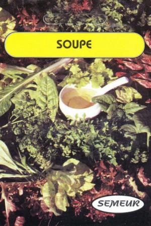 Semences potagères : Soupe Mélange pour soupe