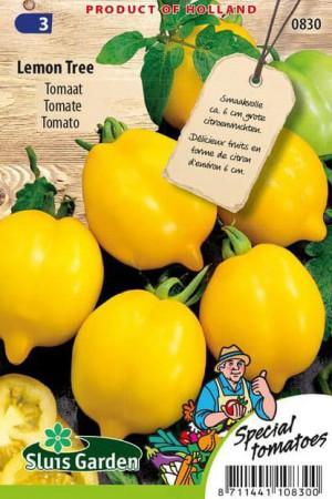Semences potagères : Tomate Lemon tree