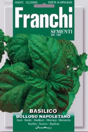 Semences condimentaires : Basilic Bolloso Napoletano