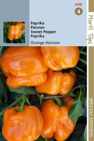 Semences condimentaires : Poivron Orange Horizon