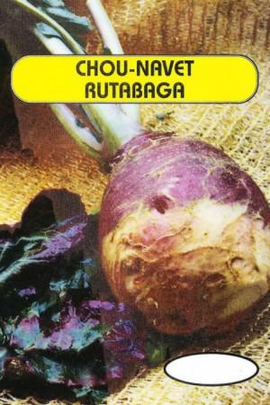 Engrais verts - Fourragères - Gazons  : Fourragères Chou rutabaga à collet rouge