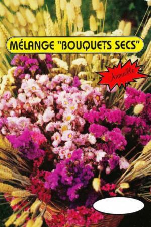Semences de fleurs : Mélange de fleurs Fleurs pour bouquets secs