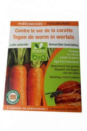 Traitement : Insecticide Phéromone ver carotte