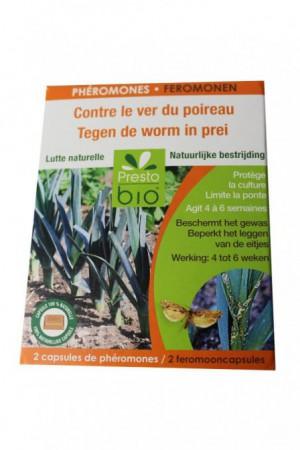 Traitement : Insecticide Phéromone teigne poireau