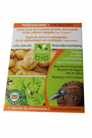 Traitement : Insecticide Phéromone ver pdt salade