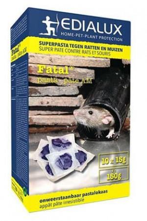 Traitement : Insecticide Fatal pâte