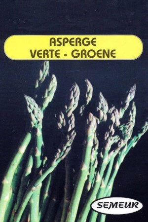 Semences potagères : Asperge Verte