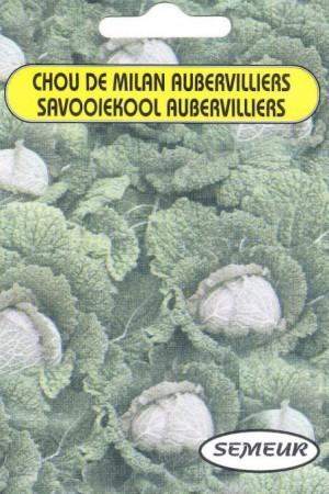 Semences potagères : Chou de Milan d'Aubervilliers