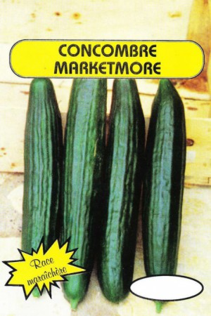 Semences potagères : Concombre Marketmore