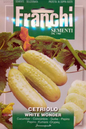 Semences potagères : Cornichon White Wonder