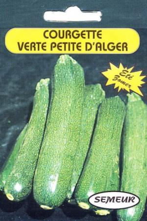 Semences potagères : Courgette Verte petite d'Alger