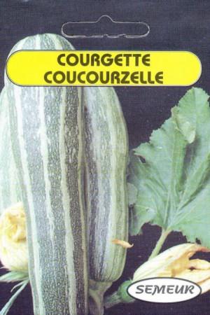 Semences potagères : Courgette Courcouzelle