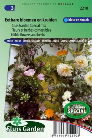 Semences potagères : Mélange Herbes et fleurs comestibles