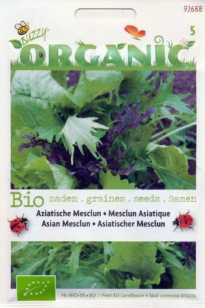 Semences potagères : Légumes asiatiques Mesclun asiatique BIO